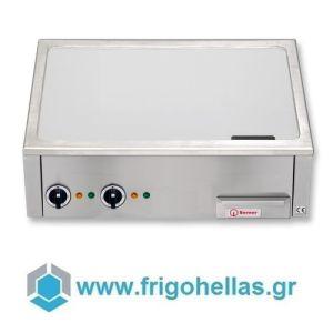 BERNER BGAX60C Ηλεκτρικό Επιτραπέζιο Πλατώ TEPPANYAKI - 600x600x200mm