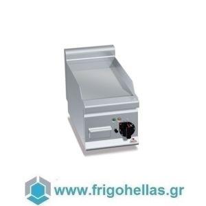 BERTOS E6FL3BP Επιτραπέζιο Πλατό Ηλεκτρικό Με Λεία Πλάκα & Μία Ζώνη Ψησίματος - 300x600x290mm