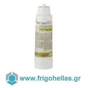 BWT water+more bestmax PREMIUM V (1.800 lt Νερό) (Σετ 4 Τεμαχίων) Ανταλλακτικό Φίλτρο νερού - Ø115x370mm (Εμπλουτισμένη Γεύση από Μαγνήσιο στον Καφέ, Τσάι και άλλα Ροφήματα)