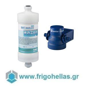 "BWT water+more bestcare MINI KIT Επαγγελματικό Φίλτρο Βελτιστοποίησης Νερού & Κεφαλή Δικτύου - Σύνδεση: 3/8"""
