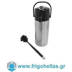 COFFEE QUEEN Airpot Ανοξείδωτος Θερμός 2,2Lit