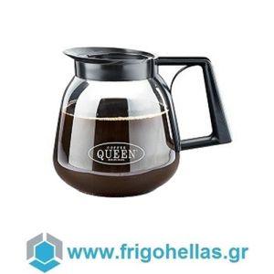 COFFEE QUEEN Κανάτα Γυάλινη για Μηχανή Καφέ Φίλτρου - Χωρητικότητα: 1,8Lit