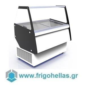 CRYSTAL ATHENA 13 (Εξουσιοδοτημένο Service - Επίσημος Μεταπωλητής) Βιτρίνες Παγωτού 13 Γεύσεων-Ελληνικής Κατασκευής