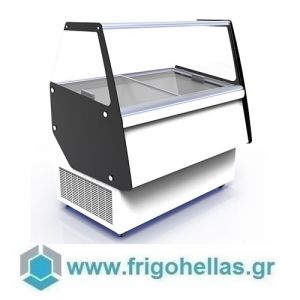 CRYSTAL ATHENA 9 (Εξουσιοδοτημένο Service - Επίσημος Μεταπωλητής) Βιτρίνες Παγωτού 9 Γεύσεων-Ελληνικής Κατασκευής