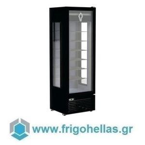 CRYSTAL CRF400 3D (Εξουσιοδοτημένο Service - Επίσημος Μεταπωλητής) Επαγγελματικά Ψυγεία Κατάψυξης 400Lit με Ψυχόμενα Ράφια-Ελληνικής Κατασκευής