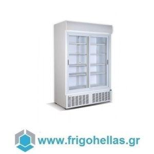 CRYSTAL CRS1200 (Εξουσιοδοτημένο Service - Επίσημος Μεταπωλητής) Ψυγεία Αναψυκτικών 1129Lit με 2 Πόρτες Συρόμενες 1364x716x2059mm