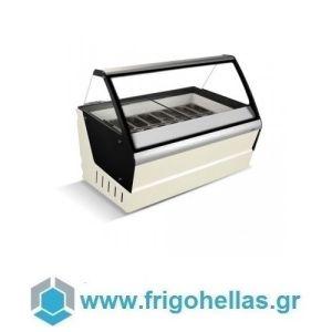CRYSTAL OPTIMUS 16 Βιτρίνες Παγωτού 16 Γεύσεων-Ελληνικής Κατασκευής (Υποστηρίζεται από εξουσιοδοτημένο Service)