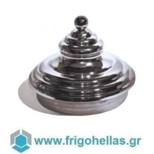 CV02/E (Ø240mm) Καπάκι Πυραμίδα  για Δοχείο Παγωτού Λεκάνες Παγωτού-Carapina-Pozetti Pan