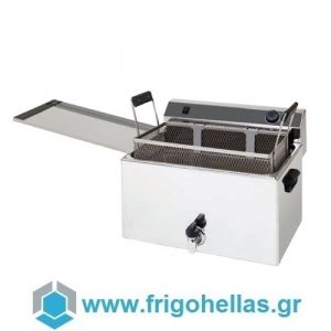 XDOME XDF16L Φριτέζα για Λουκουμάδες & Ντόνατας - Χωρητικότητα Κάδου: 16 Lit (Πορτογαλίας)