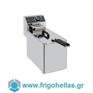 XDOME XDF4LS Επαγγελματική Φριτέζα Ηλεκτρική 4Lit (Πορτογαλίας)