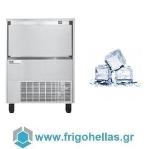 ICETECH FD 110 (110Kg/24h) Παγομηχανή με Αποθήκη για Τετράγωνο Παγάκι 13cc