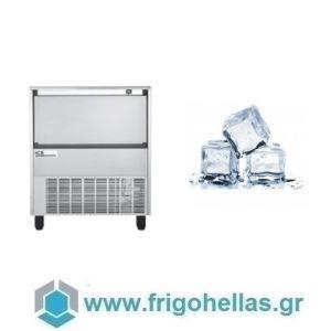 ICETECH FD 140 (136Kg/24h) Παγομηχανή με Αποθήκη για Τετράγωνο Παγάκι 13cc