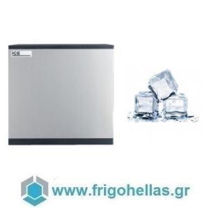ICETECH FD 415 (405Kg/24h) Παγομηχανή με Αποθήκη για Τετράγωνο Παγάκι 13cc