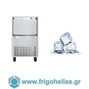 ICETECH FD 60 (59Kg/24h) Παγομηχανή με Αποθήκη για Τετράγωνο Παγάκι 13cc