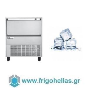 ICETECH HD 140 (136Kg/24h) Παγομηχανή με Αποθήκη για Τετράγωνο Παγάκι 6,5cc