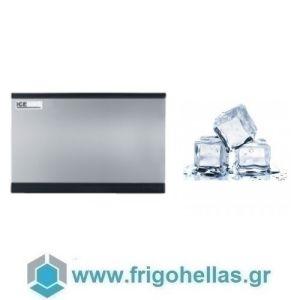 ICETECH HD 215 (220Kg/24h) Παγομηχανή με Αποθήκη για Τετράγωνο Παγάκι 6,5cc