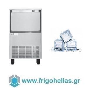 ICETECH HD 60 (59Kg/24h) Παγομηχανή με Αποθήκη για Τετράγωνο Παγάκι 6,5cc