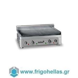 ItalStar 058.0008 Ηλεκτρικό Πλατό Εστία Ψησίματος Ραβδωτό - 560x340x300mmm (Υποστηρίζεται από Εξουσιοδοτημένο Service)