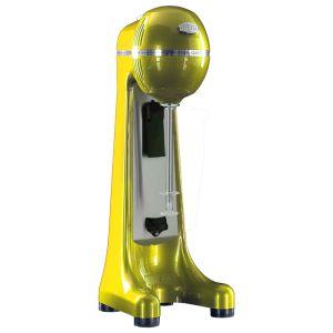 JOHNY AK/2-2T-PR Met - Αυτόματη Φραπιέρα Κίτρινο Με 2 Ταχύτητες Κατάλληλη για Κύπελα(Δώρο μία Προπέλα) (Εξουσιοδοτημένο service του Κατασκευαστή)