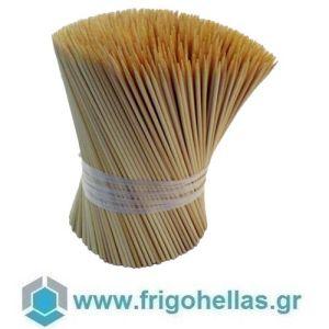 Καλαμάκια bamboo για Σουβλάκια-3,2x215mm (Κιβώτιο με 10.000τμχ) Εξαιρετικής Ποιότητας