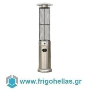 KARAMCO EBL (Ø46x210cm) Σόμπα-Θερμάστρα Υγραερίου-Μανιτάρι - Αλουμινίου (15Kw)