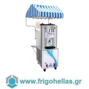 KARAMCO IIM-32 (52x72,5x135cm - 32-42Kg/h) Μηχανή Παγωτού Soft και Frozen Yogurt - 1,7-2KW