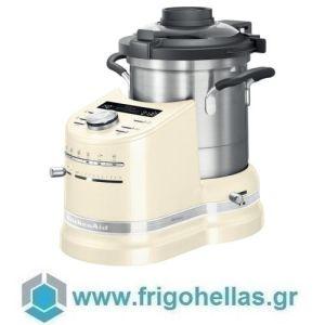 KitchenAid 5KCF0104EAC (2,5Lt) Κουζινομηχανή Κρεμ Almond Cream Σειρά Artisan