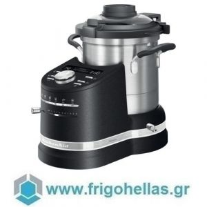 KitchenAid 5KCF0104EBK (2,5Lt) Κουζινομηχανή Μαύρη Cast Iron Black Σειρά Artisan