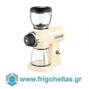 KitchenAid 5KCG0702EAC Μύλος Άλεσης Καφέ 200gr με δοσομετρητή Almond Cream (Υποστηρίζεται από εξουσιοδοτημένο service στην Ελλάδα)