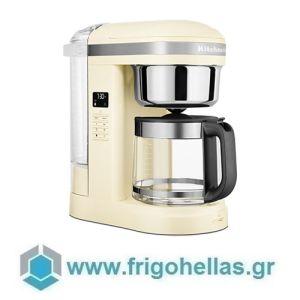 KitchenAid 5KCM1209EAC Καφετιέρα 1,7 lt / 12 φλ. Με Σπιράλ Κεφαλή Drip Almond Cream