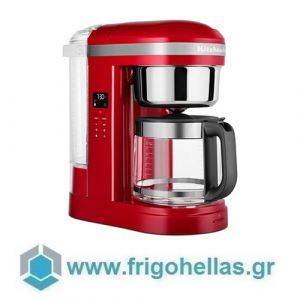KitchenAid 5KCM1209EER Καφετιέρα 1,7 lt / 12 φλ. Με Σπιράλ Κεφαλή Drip Coffee Empire Red