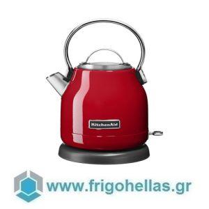 KitchenAid 5KEK1222EER Βραστήρας Νερού Κόκκινος - 1,25Lit (Υποστηρίζεται από εξουσιοδοτημένο service στην Ελλάδα)