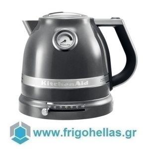 KitchenAid 5KEK1522EMS Βραστήρας Νερού Medallion Silver-1,5Lit (Υποστηρίζεται από εξουσιοδοτημένο service στην Ελλάδα)