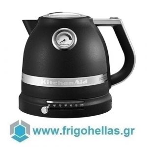 KitchenAid 5KEK1522EBK Βραστήρας Νερού Cast Iron Black - 1,5Lit (Υποστηρίζεται από εξουσιοδοτημένο service στην Ελλάδα)