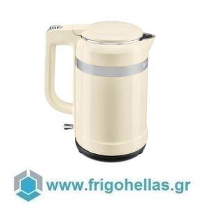 KitchenAid 5KEK1565EAC Βραστήρας Νερού Almond Cream - 1,5Lit (Υποστηρίζεται από εξουσιοδοτημένο service στην Ελλάδα)