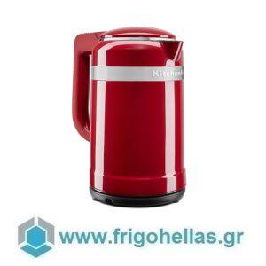 KitchenAid 5KEK1565EER Βραστήρας Νερού Empire Red - 1,5Lit (Υποστηρίζεται από εξουσιοδοτημένο service στην Ελλάδα)