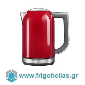 KitchenAid 5KEK1722EER Βραστήρας Νερού Κόκκινος - 1,7Lit (Υποστηρίζεται από εξουσιοδοτημένο service στην Ελλάδα)