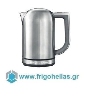 KitchenAid 5KEK1722ESX Βραστήρας Νερού Inox - 1,7Lit (Υποστηρίζεται από εξουσιοδοτημένο service στην Ελλάδα)