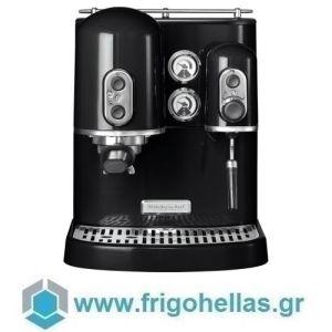 KitchenAid 5KES2102EOB Μηχανή Espresso Μαύρη Onyx Black Σειρά Artisan