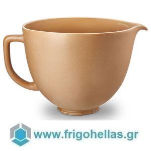 KitchenAid 5KSM2CB5PFC (4,7Lt) Μπολ Κεραμικό Fired Clay (Υποστηρίζεται από εξουσιοδοτημένο service στην Ελλάδα)