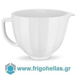 KitchenAid 5KSM2CB5PWS (4,7Lt) Μπολ Κεραμικό White Shell (Υποστηρίζεται από εξουσιοδοτημένο service στην Ελλάδα)