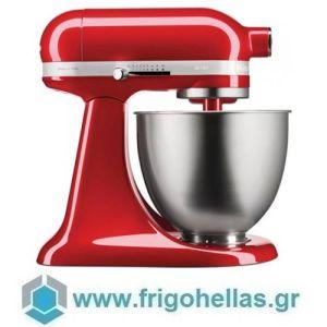 KitchenAid 5KSM3311XECA (3,3Lt) Mini Μίξερ Candy Apple (κόκκινο) Σειρά Artisan (Υποστηρίζεται από εξουσιοδοτημένο service στην Ελλάδα)