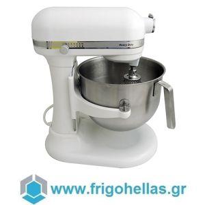 KitchenAid 5KSM7591XEWH Επαγγελματικό Μίξερ 6,9Lit & 1,3hp (Χρώμα: Λευκό) (Υποστηρίζεται από εξουσιοδοτημένο service στην Ελλάδα)