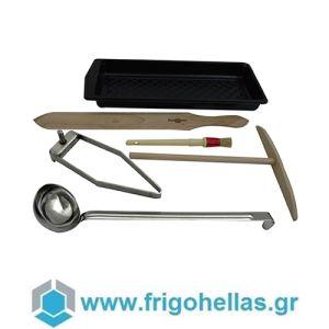 Krampouz AKE83 Σετ Εργαλεία για Εύκολη Δημιουργία Κρέπας Ø350mm