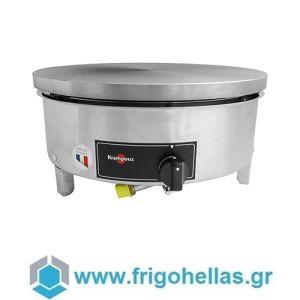 Krampouz CGBIN4 Επαγγελματική Κρεπιέρα Υγραερίου Μονή Ø400mm