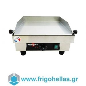 KRAMPOUZ GECIC3 Επαγγελματικό Πλατό Ρεύματος Ανοξείδωτο - 395x380x195mm
