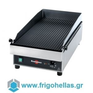 KRAMPOUZ GECIL2 Επαγγελματικό Ηλεκτρικό Πλατό Ραβδωτό - 400x690x266mm