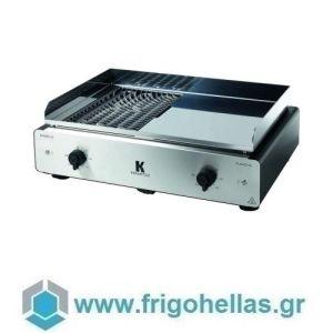 KRAMPOUZ GECIO2OA Ηλεκτρικό Grill Νερού & Πλατώ - 700x500x250mm