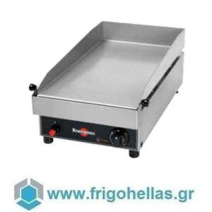 KRAMPOUZ GGCIR2AA Επιτραπέζιο Πλατώ Υγραερίου- 400x690x266mm