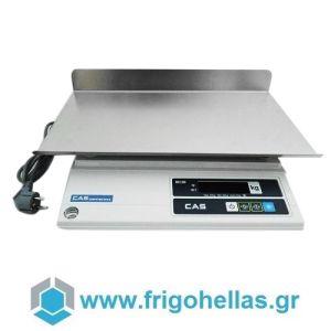 CAS AD-15 Ηλεκτρονική Ζυγαριά Για Έλεγχο Βάρους Προιόντων (Ικανότητα Ζύγισης: 6/15Kg - Υποδιαίρεση: 2/5gr)